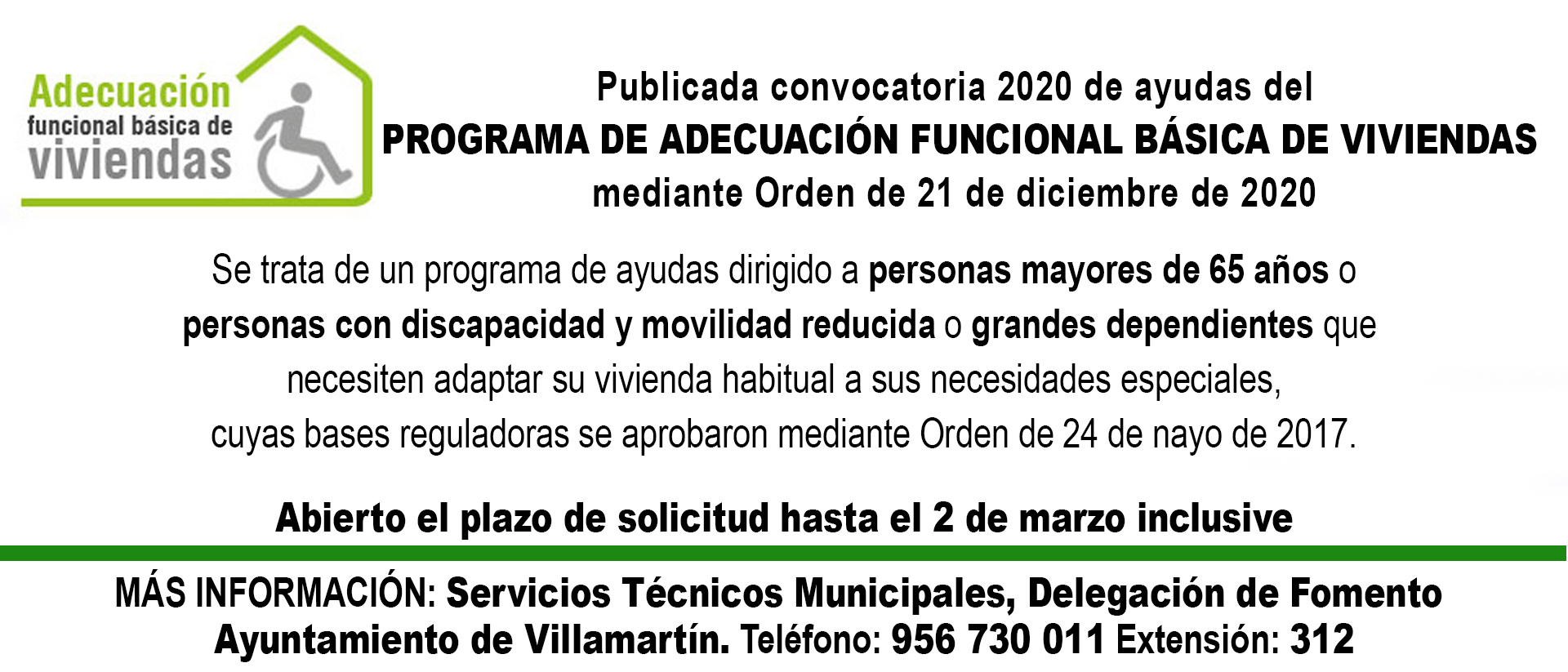 BANNER ADECUACION FUNCIONAL BASICA DE VIVIENDAS